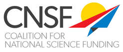 Coalition for National Science Funding logo