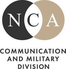 NCA Communication and Military Division logo