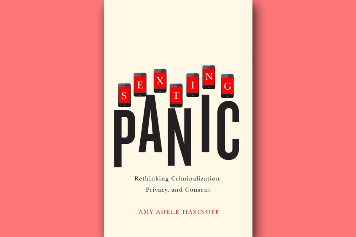 Sexting Panic book cover