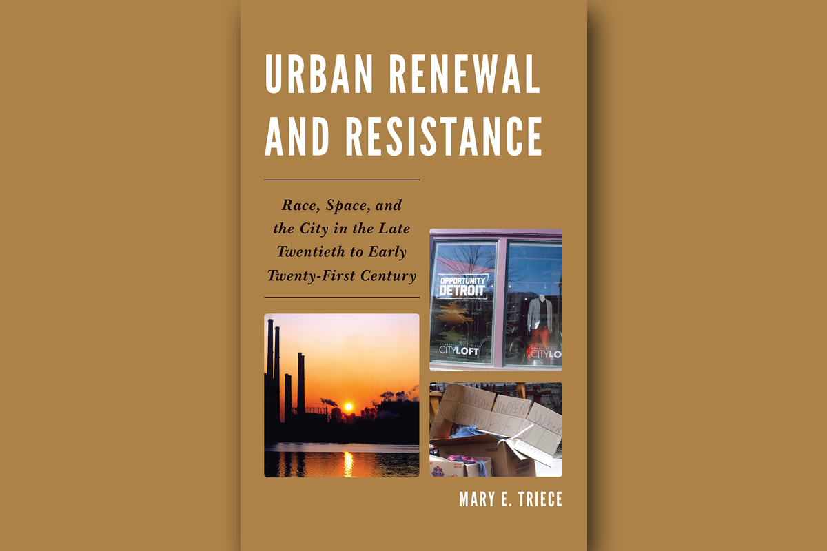 Urban Renewal and Resistance book cover