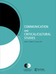 Communication and Critical/Cultural Studies Cover