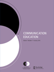 Communication Education Cover