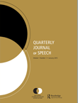 Quarterly Journal of Speech Cover