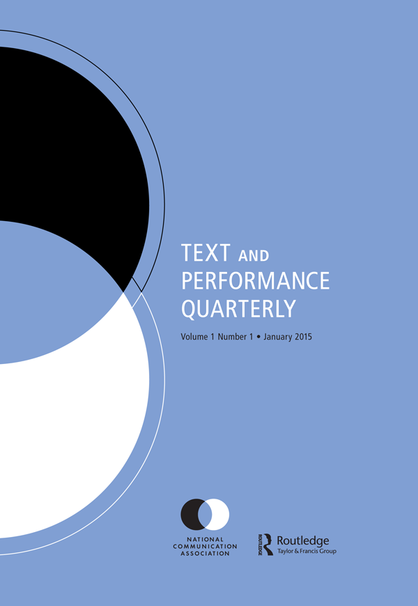 Text and Performance Quarterly