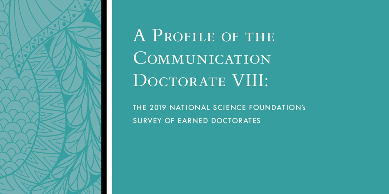 A Profile of the Communication Doctorate VIII cover