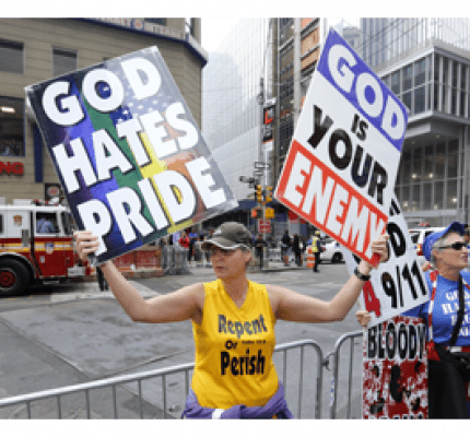Members of Westboro Baptist church