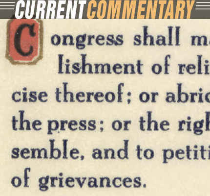 Text of the First Amendment