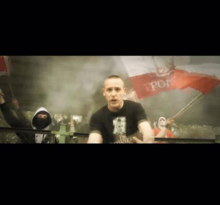 Screenshot of rap video