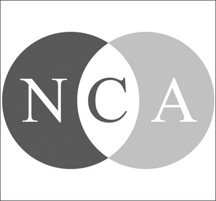 NCA logo in gray