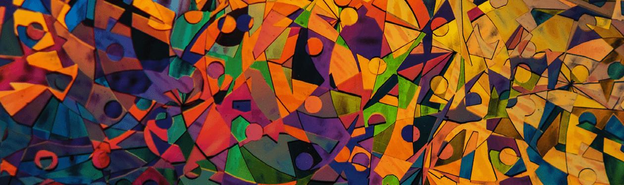 Geometric abstract art