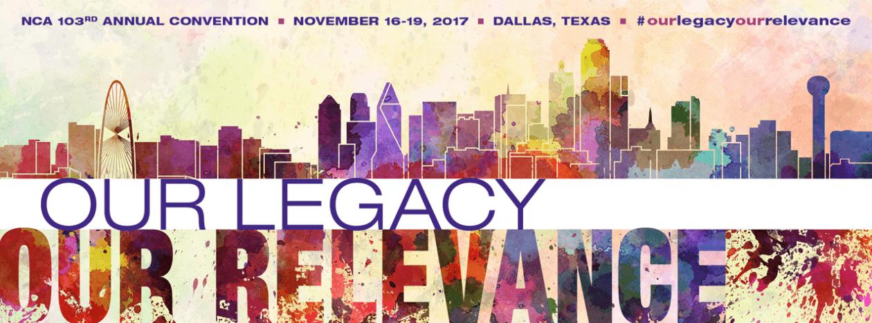 103rd Annual Convention Dallas skyline artwork