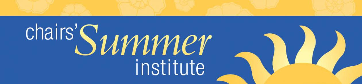 NCA Chairs' Summer Institute