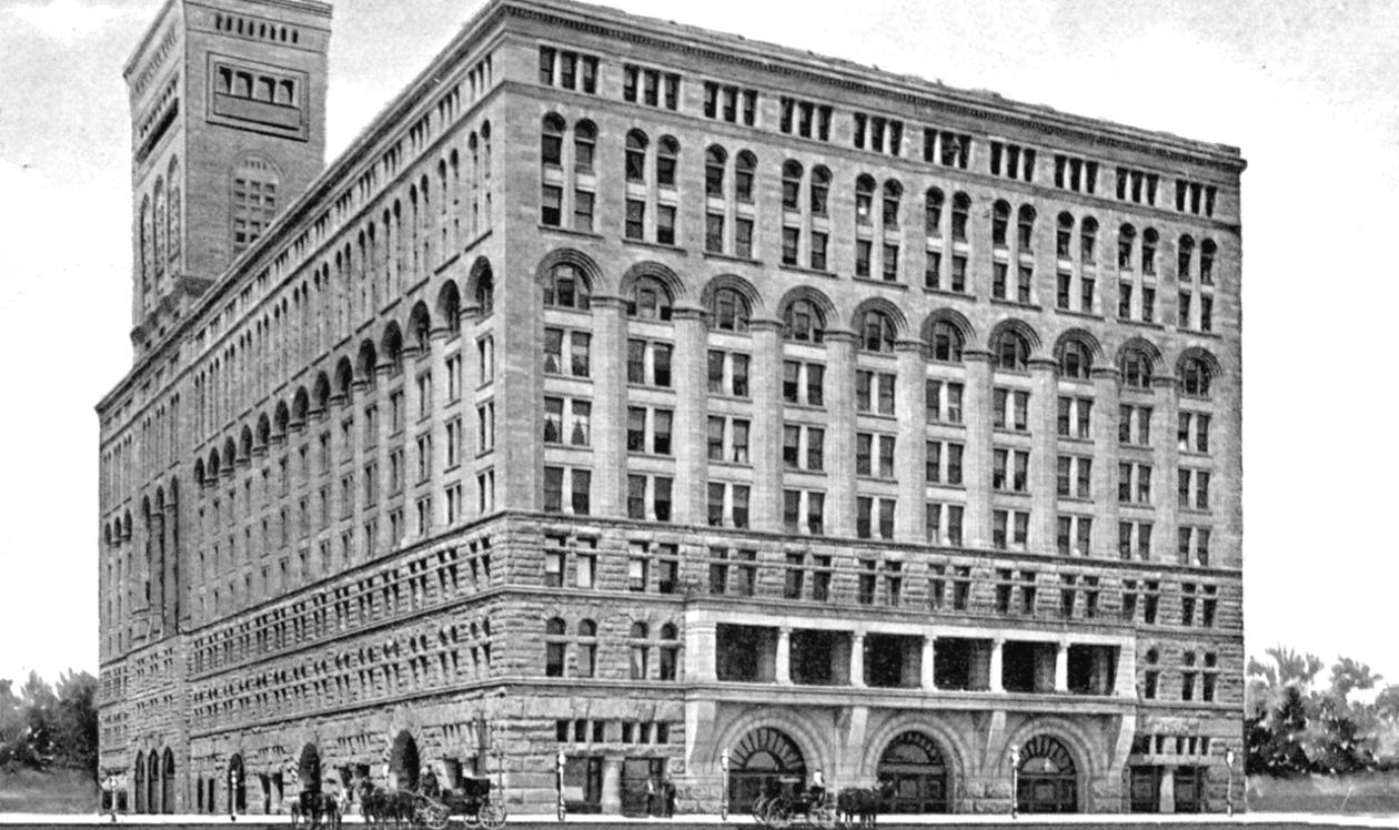 Statler Hotel in Chicago