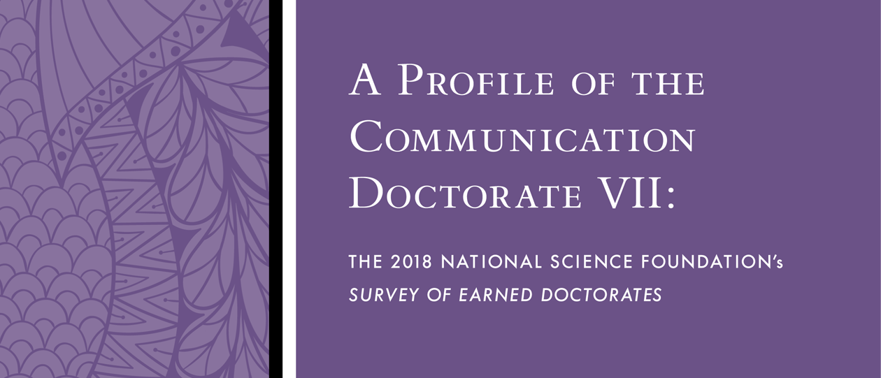 A Profile of the Communication Doctorate VII Cover